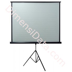 Jual Screen Projector Tripod D-Light 70  Inch [TSDL1717L]